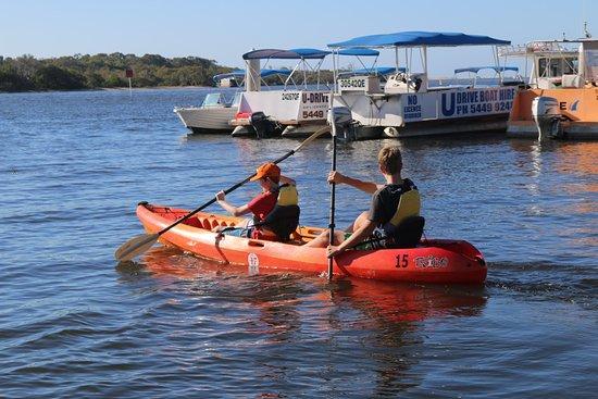 Noosaville, Australien: Morning Paddle