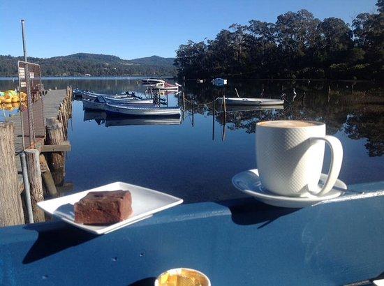 Merimbula, Australia: Morning Tea at the Boardwalk Cafe