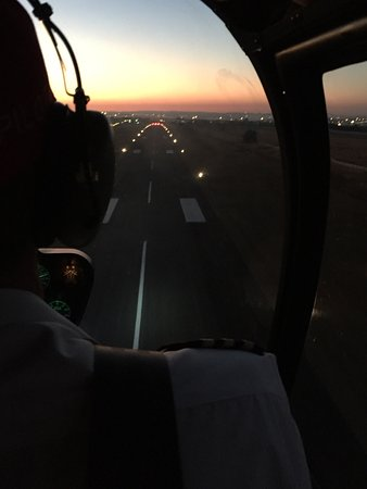 FlyJozi: Awesome sunset flight over Jozi