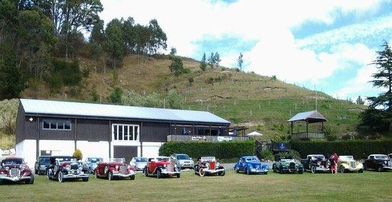 Napier, Nueva Zelanda: Vintage Cars dropped in for lunch