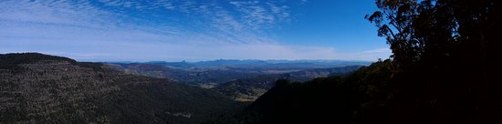 Canungra, Australien: View from one of the lookouts
