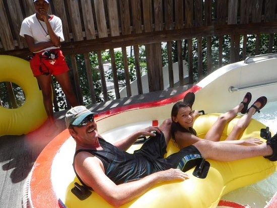 Marietta, GA: tubing with dad