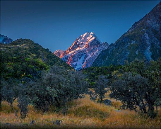 Aoraki Mount Cook National Park (Te Wahipounamu), Neuseeland: The Hooker valley walk