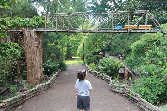Image result for morris arboretum garden railway