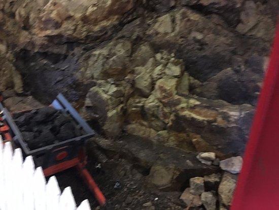 Roscommon, Ιρλανδία: In the mine shaft