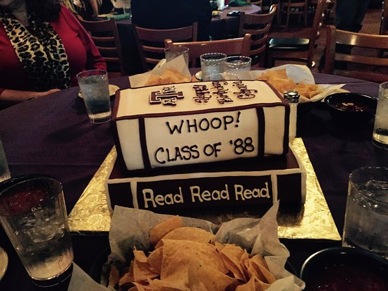Spring, Τέξας: Great Aggie Book B-day cake!!