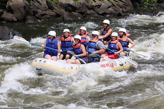 Hartford, TN: We loved our whitewater rafting trip on the Upper Pigeon River!!