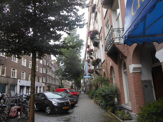 Street of the Jupiter Hotel.