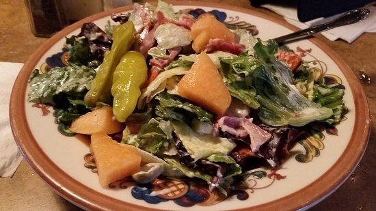 Peoria, AZ : Antipasta Salad, dinner side.