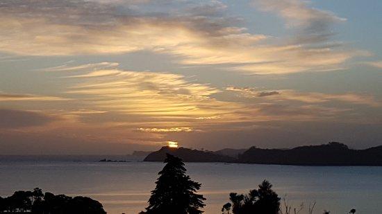 Γουαϊτάνγκι, Νέα Ζηλανδία: sunrise