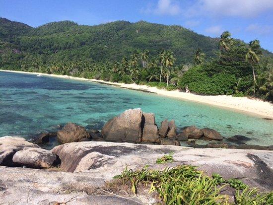 Anse Forbans, Ilhas Seychelles: Plage de l'hotel