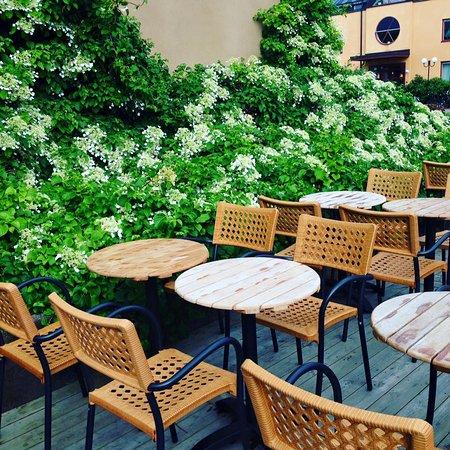 Kopparhatten Cafe & Kok : Terassen