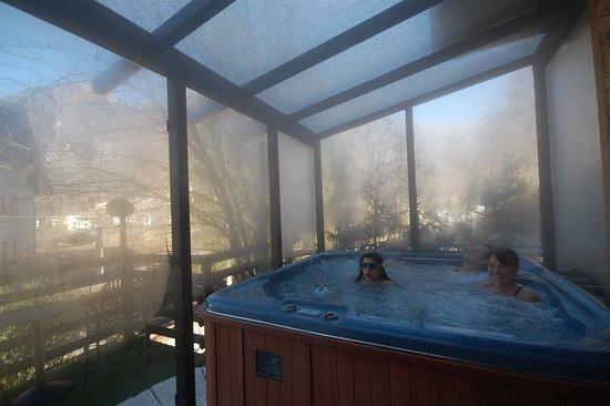 Chalet Fiocco di Neve: privat spa