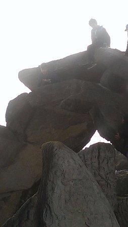Whangarei, Nueva Zelanda: Climbing to the top
