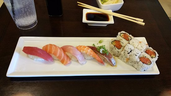 Newbury Park, Californie : Our Lunch Special at Sumo Sushi
