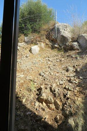 Son Servera, España: Blick aus dem Schlafzimmerfenster Suite 147