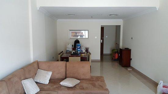 Rose Garden Hotel Apartments Al Barsha Living Room