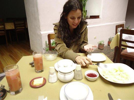 Casa Ordonez: Breakfast!