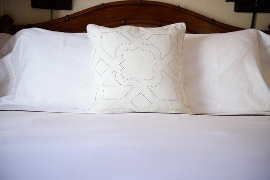 Capitola Hotel: Luxury Linens