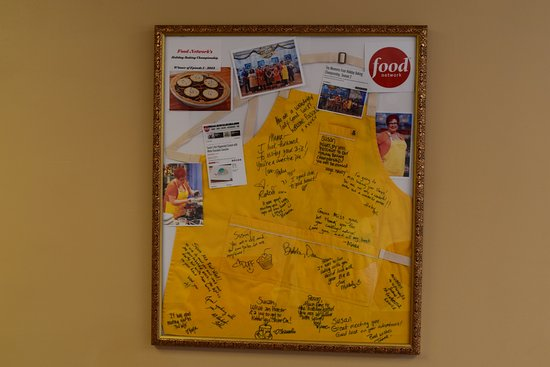 Galena, IL: Susan apron from the Food Network show.