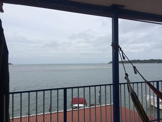 Hotel Vista Mar : outside sitting area, two hammocks
