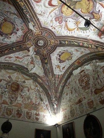 Montechiarugolo, Italien: affresco soffitto