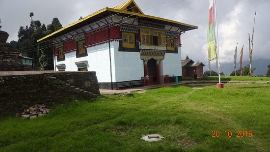 Pelling, Indien: the little monastery