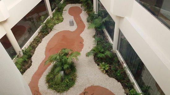 Collado Villalba, Spain: Patio interior del Hotel