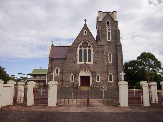 Koroit, Australia: Designed by Patrick Wardell who also designed St.Patricks Cathedral in Melbourne.
