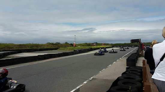 Wadebridge, UK : St Eval Kart Circuit