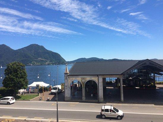 Intra Hotel : Blick auf den Lago Maggiore