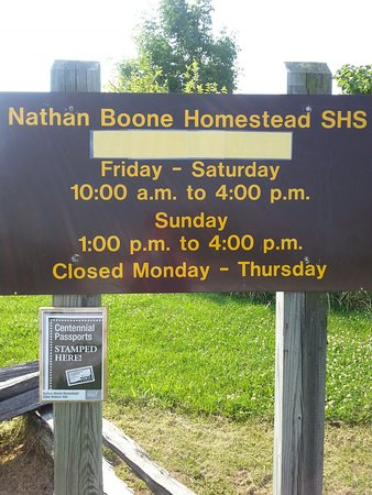 Nathan Boone Homestead State Historic Site: 20160612_092235_large.jpg