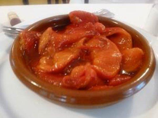 Asador Salamanca: Pimientos asados