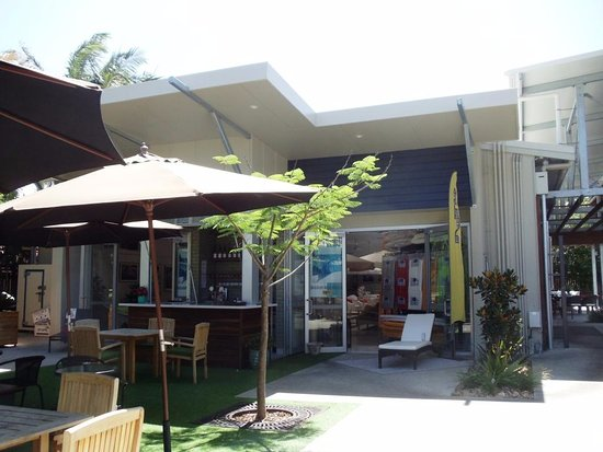 Noosaville, Australien: outdoor seating area