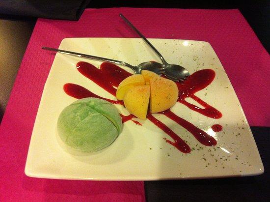 Salon-de-Provence, Prancis: le dessert