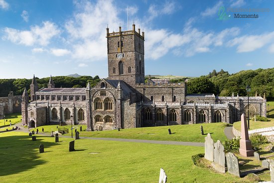 Haverfordwest, UK: St Davids Cathedral July 2016