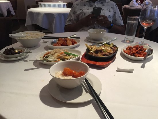 Chef Peking: Set meal was tasty and good value for money