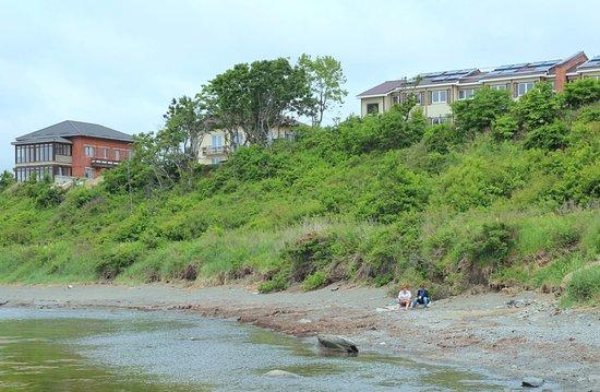 Nakhodka, Russland: пляж