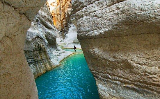Exploring Oman's wadis