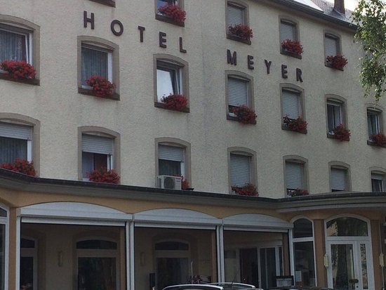 Hotel Meyer : Façade