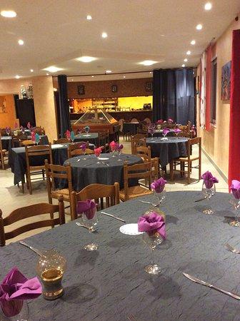 La Roche-Posay, Fransa: restaurant
