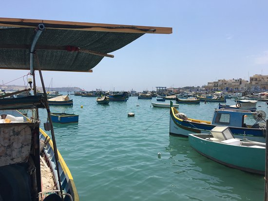Marsaxlokk, Malta: View from the pier