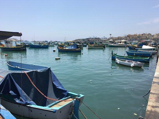 Marsaxlokk, Malta: Small boats