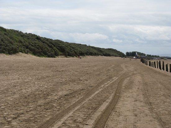 uphill beach and sand dunes picture of uphill slipway beach