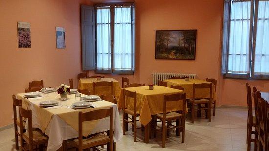 Ostello la Cocciara: La sala pranzo.