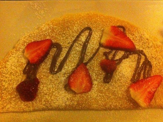 Piadena, Włochy: crepes