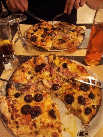 Pizzeria de la Garde: Royale et Figatelli