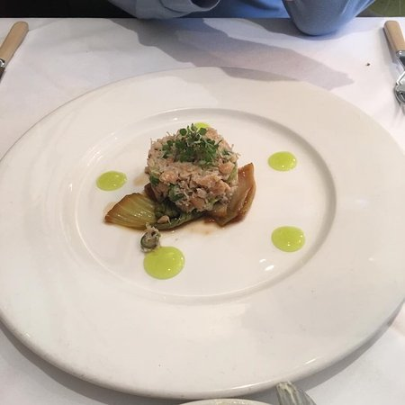 Two Fat Ladies City Centre: Crab starter