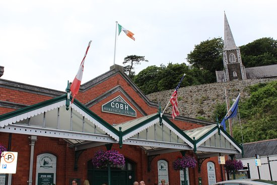 Cobh, Irlanda: Didn't realize this connection to the titanic. Interesting!  Gift shop was nice.