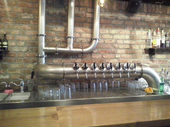 Ra'anana, Israel: The tap machine ;)